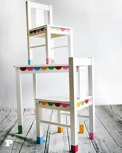 Kindertisch Und Stühle Ikea : ber ideen zu bemalte st hle auf pinterest ~ Michelbontemps.com Haus und Dekorationen