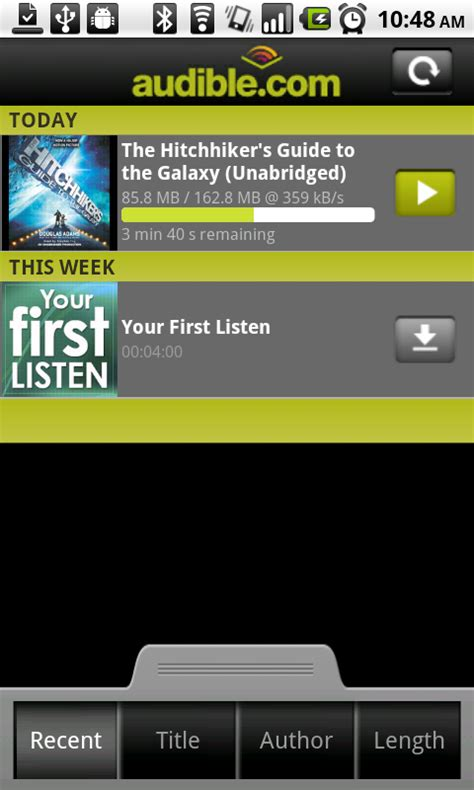 audible for android android app audible audio book player beta