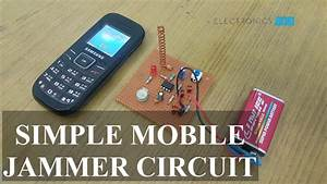 Simple Mobile Jammer Circuit