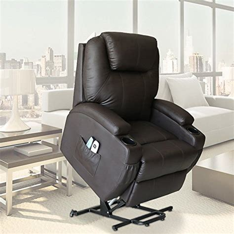Electric Recliners For Elderly by Unionline Pu Leather Power Lift Chairs Recliner For