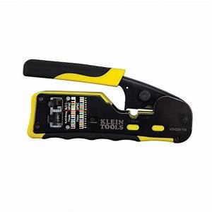 Pass-thru U2122 Modular Crimper