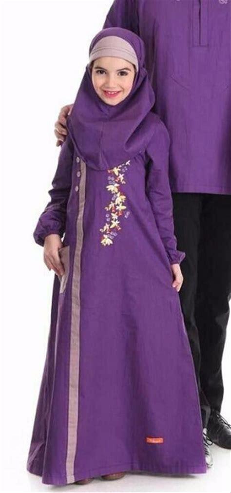 Harga Gamis Merek Nibras jual keren baju anak gamis murah nibras nsa p38 ungu