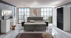 Design Schlafzimmer Komplett : komplett schlafzimmer mit boxspringbett junges wohnen lurato ~ Bigdaddyawards.com Haus und Dekorationen