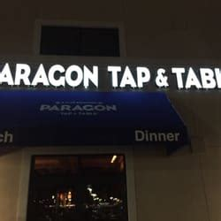 paragon tap and table paragon tap table clark nj united states just above