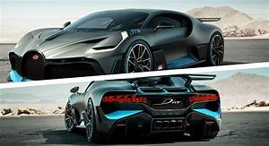 Side Scoops By Air Design Bugatti Divo Debuts With 1500 Hp Production Limited To 40