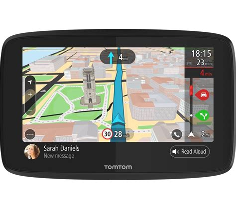 auto navigation test buy tomtom go 620 car 6 quot sat nav with worldwide maps free delivery currys