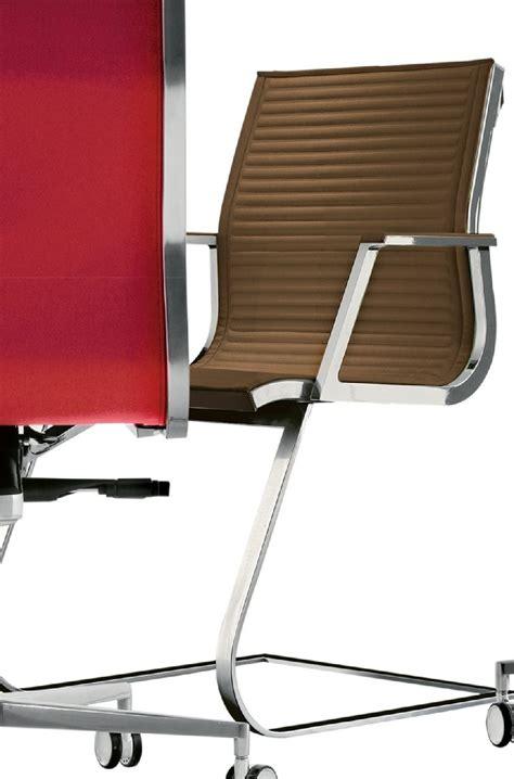 pied de fauteuil de bureau fauteuil design accoudoirs pied luge en cuir nulite