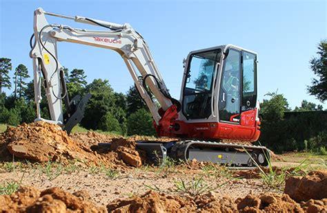 tb  compact excavator takeuchi