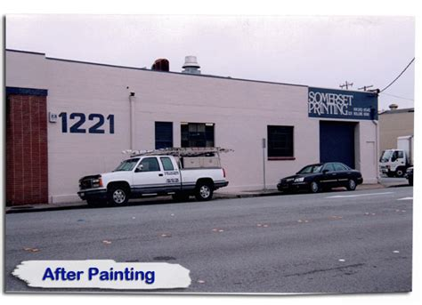 pacific coast painting waterproofing lettering graphics