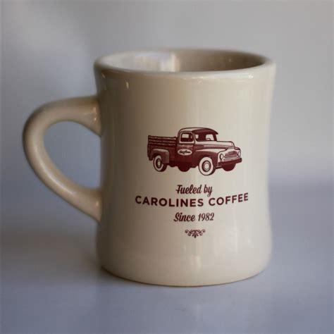 Аква минерале газированная 0.5 л. Carolines Diner Mug | Caroline's Coffee
