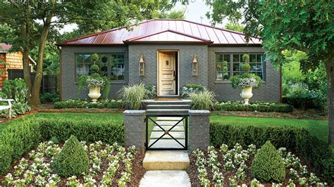 exterior makeovers    southern living
