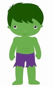 Hulk clipart cute - Pencil and in color hulk clipart cute