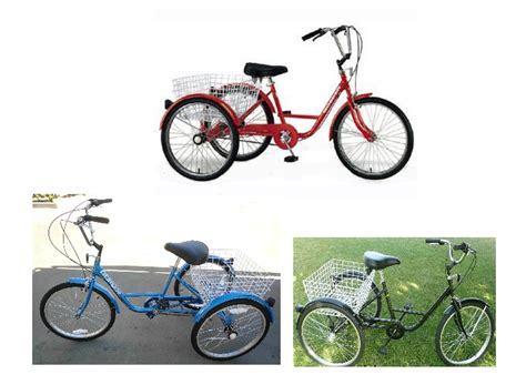 3 Wheel Adult Tricycle 24