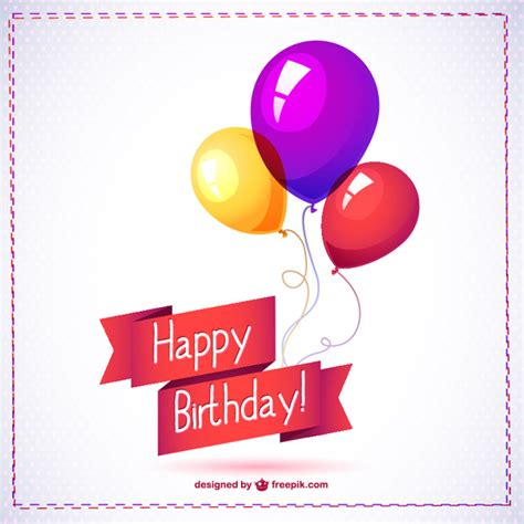Happy Birthday Balloon Graphics Free