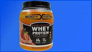 The Best Of Berries  Body Fortress Strawberry Flavored Whey Protein Review