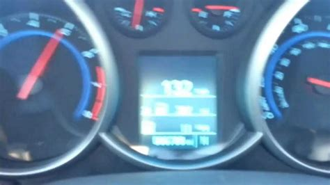 2012 Chevy Cruze Eco 0132 Mph Top Speed Youtube