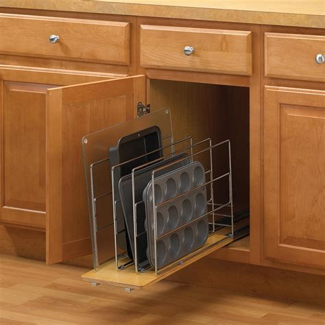 roll out trays for kitchen cabinets knape vogt 14 in h x 9 in w 22 in d pull out tray 9252