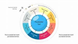 8 Step Start Finish Circular Diagram For Powerpoint