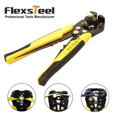 automatic cable wire crimper flexsteel self adjusting automatic wire stripping tool
