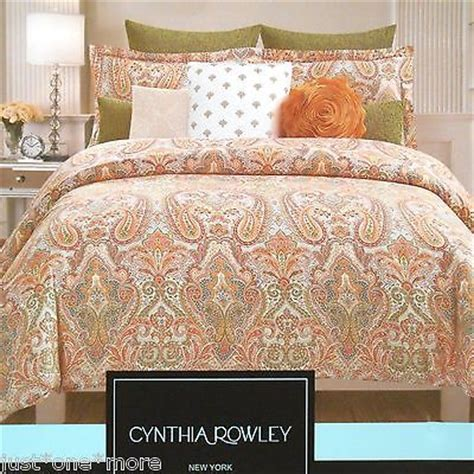Cynthia Rowley Paisley Bedding by Paisley Moroccan Duvet Cover 3pc Set Cynthia Rowley