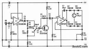 audio millivoltmeter measuring and test circuit With photocell circuits audiocircuit circuit diagram seekiccom