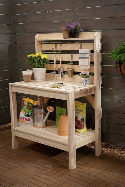 diy potting table with sink ideas potting bench kits potting bench pallets