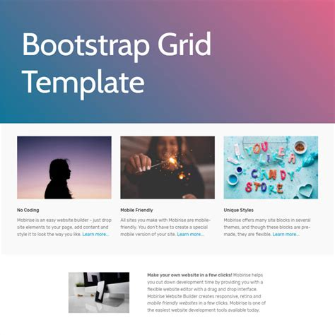 Free Html Templates Free Bootstrap Template 2018