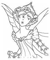 Coloring Fairy Pages Puppet Bard Puppets Craft Pheemcfaddell sketch template