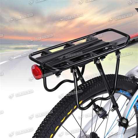 mountain bike hitch rack bicycle mountain bike rear rack seat post mount pannier
