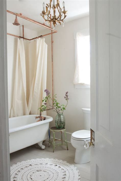 shabby chic curtain rail 616 best images about shabby chic bathrooms on pinterest