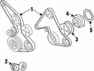 Chevrolet Beretta Engine Water Pump Pulley  Liter