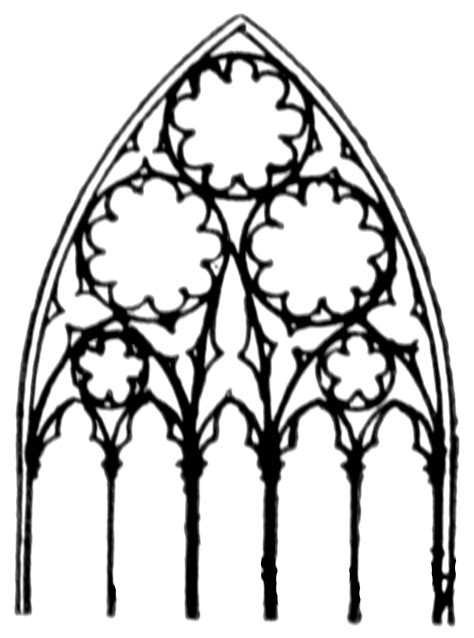 tracery clipart