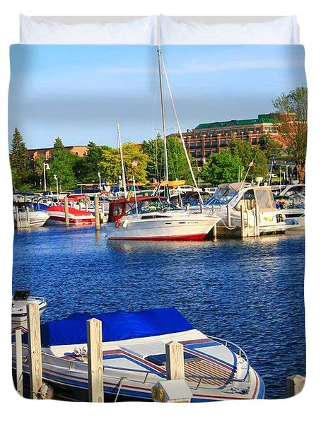 Boat Covers Traverse City by Boats On The Dock Traverse City Photograph By Dan Sproul
