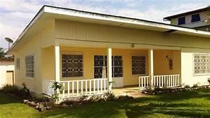 Maison Typique Des Villes Du Cameroun
