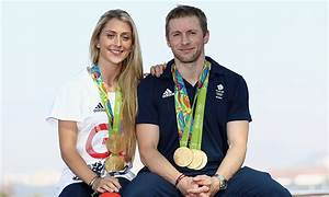 Laura Trott greeted by fiancé Jason Kenny on return from Rio