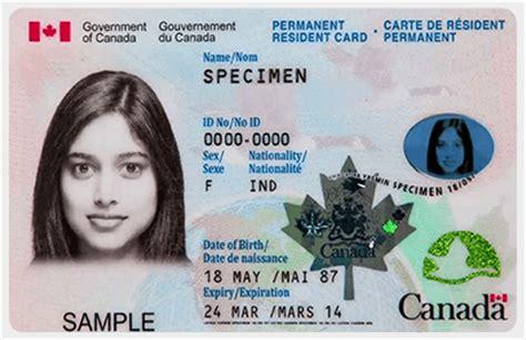 permanent resident form canada pr card renewal online canada