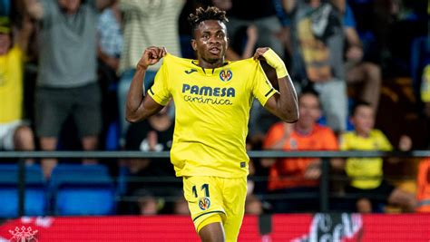 One particular clip on youtube. Samuel Chukwueze To Cost Real Madrid Staggering €63m Transfer Fee   Megasports