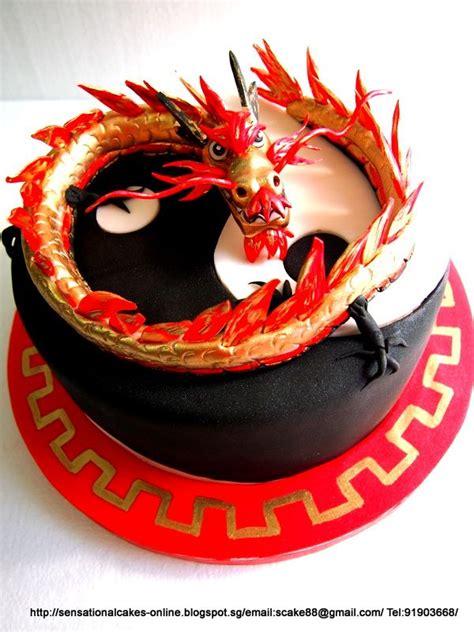 chinese dragon  cake singapore longevity cake taiji