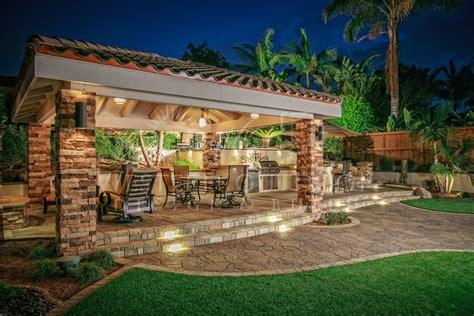 cabana backyard cabanas outdoor living spaces gallery western outdoor design and build serving san diego orange