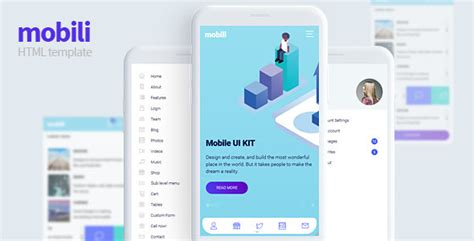 themeforest gravity material mobile app template varius mobile and tablet creative template borntohell