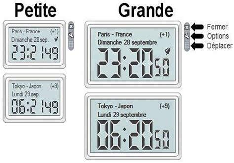 gadget bureau gratuit télécharger horloge mondiale pour windows freeware