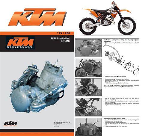 Ktm Mxc Exc Service Repair Manual