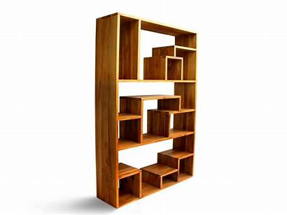Asymmetric Shelves Cabinet Freestanding Ref Furniture Bali