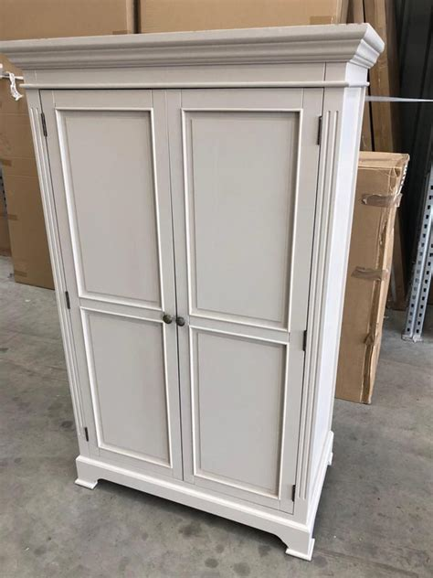 Low Wardrobe Closet by Linen Closet Low Wardrobe Daventry Grey Range Damaged
