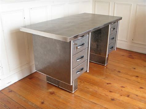 bureau fournitures bureau metal strafor style and steel jpg tables