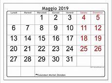 Calendari maggio 2019 LD Michel Zbinden IT