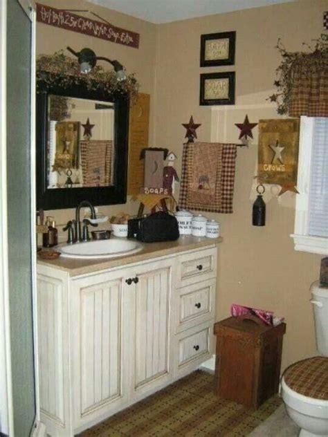 primitive country bathroom ideas country bath primitive home