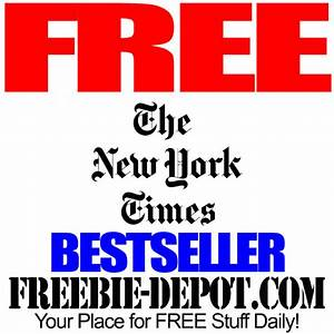 FREE New York Times Bestseller Book – Your Choice – $30 ...