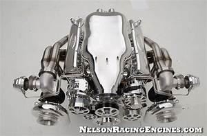 1970 Custom Corvette Twin Turbo Nelson Racing Engine