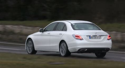 2019 Mercedesbenz Cclass Facelift Reveals Elegant New